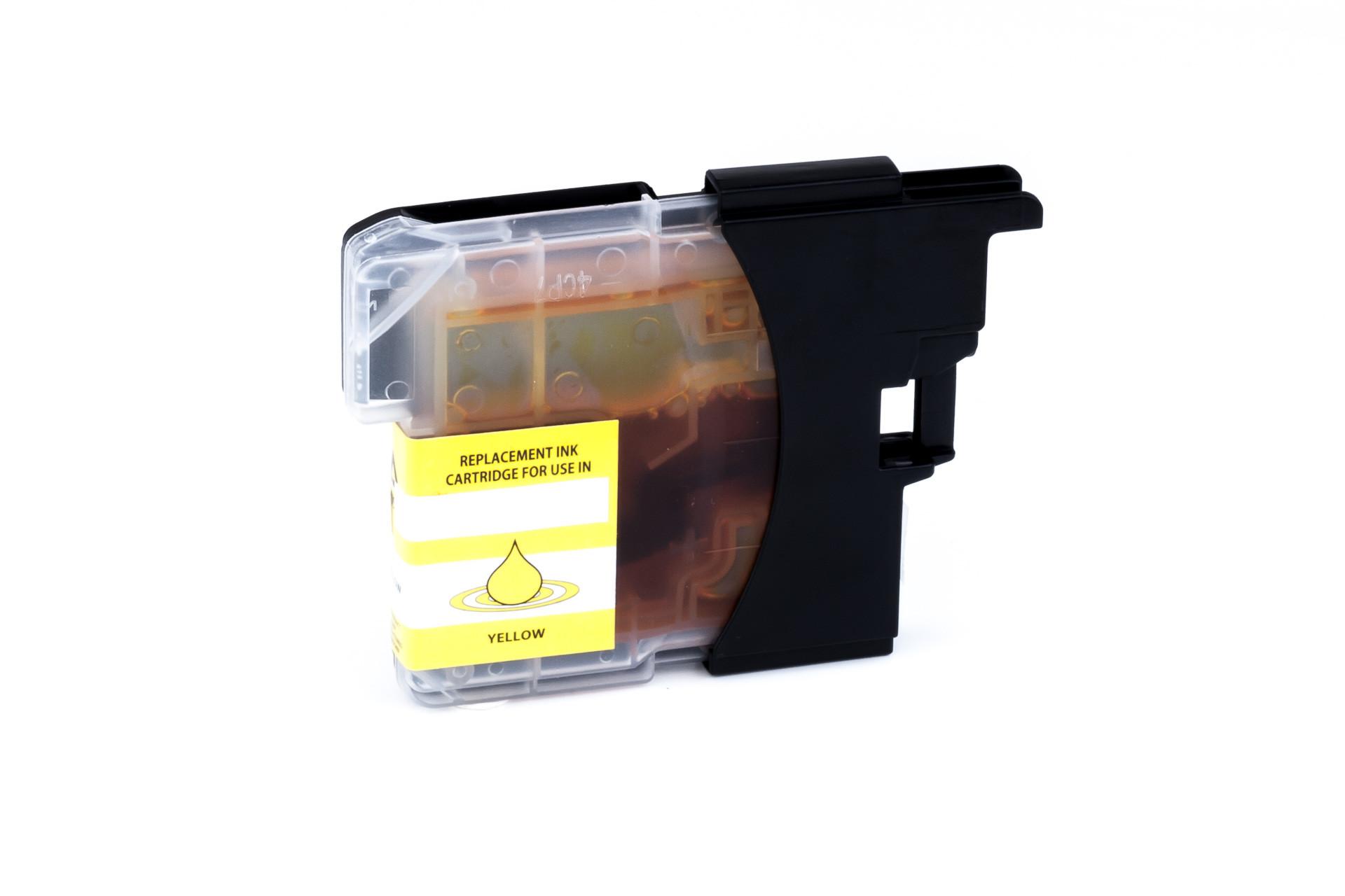 Alternativ-Tinte für Brother LC-985 yellow