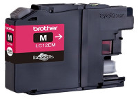 Original Tintenpatrone Brother LC12EM magenta