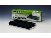 Original Thermo-Transfer-Rolle Brother PC70 schwarz